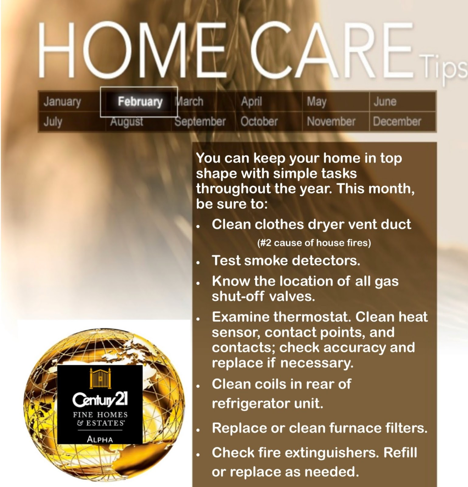 Home care february 2015 geeta 39 s real estate blog - Home secrets brief cleaning guide ...